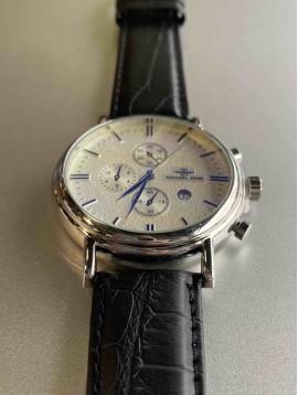 Montre Homme - Bracelet travaillé et cadran vintage