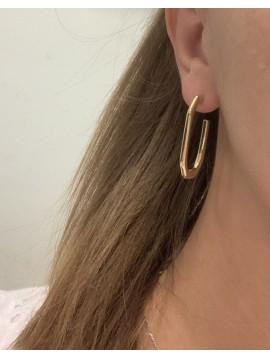 BO percées Acier - Rectangles ouverts design pendants