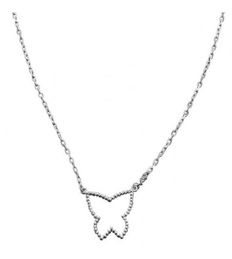 Silver necklace - Eglantine